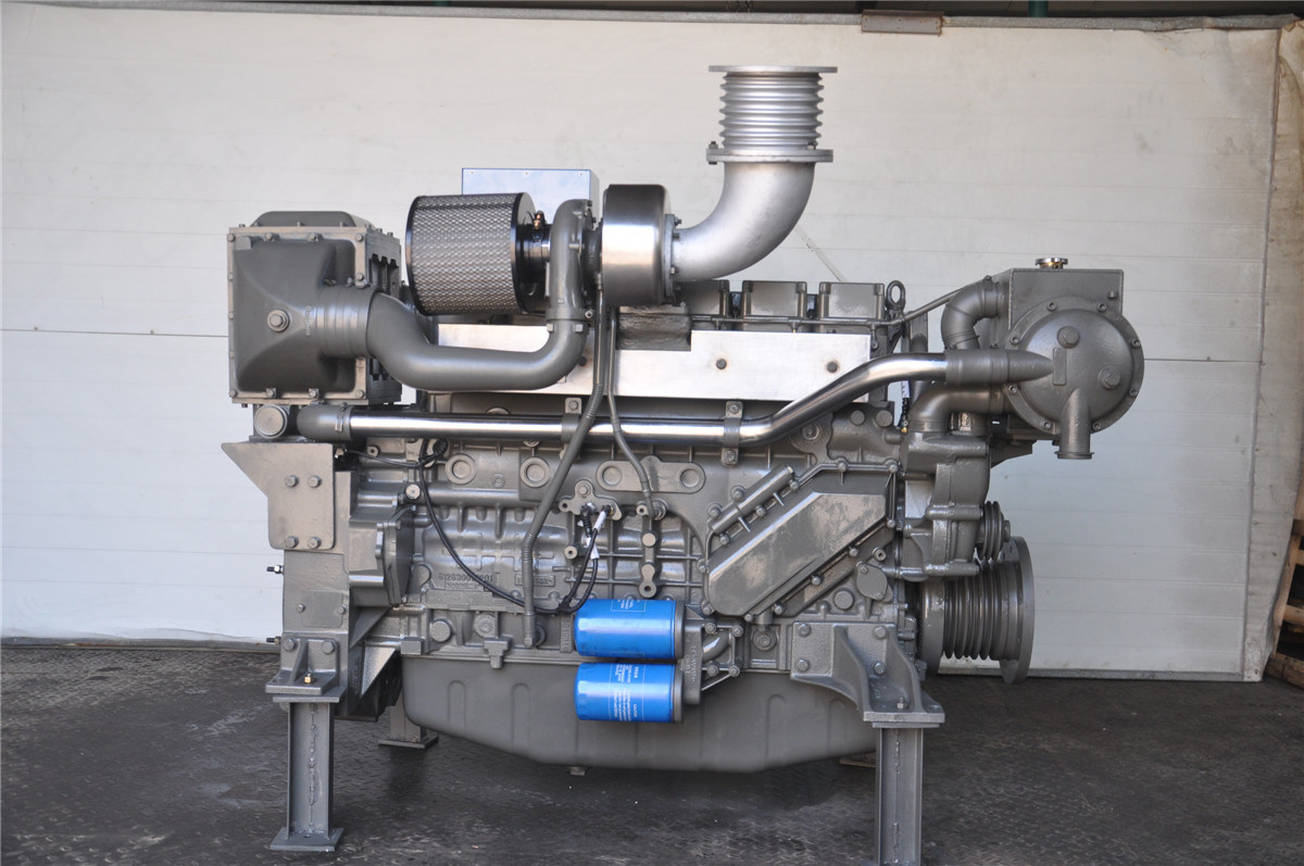 350~450 Kw Ap12 Series Marine Diesel Engine