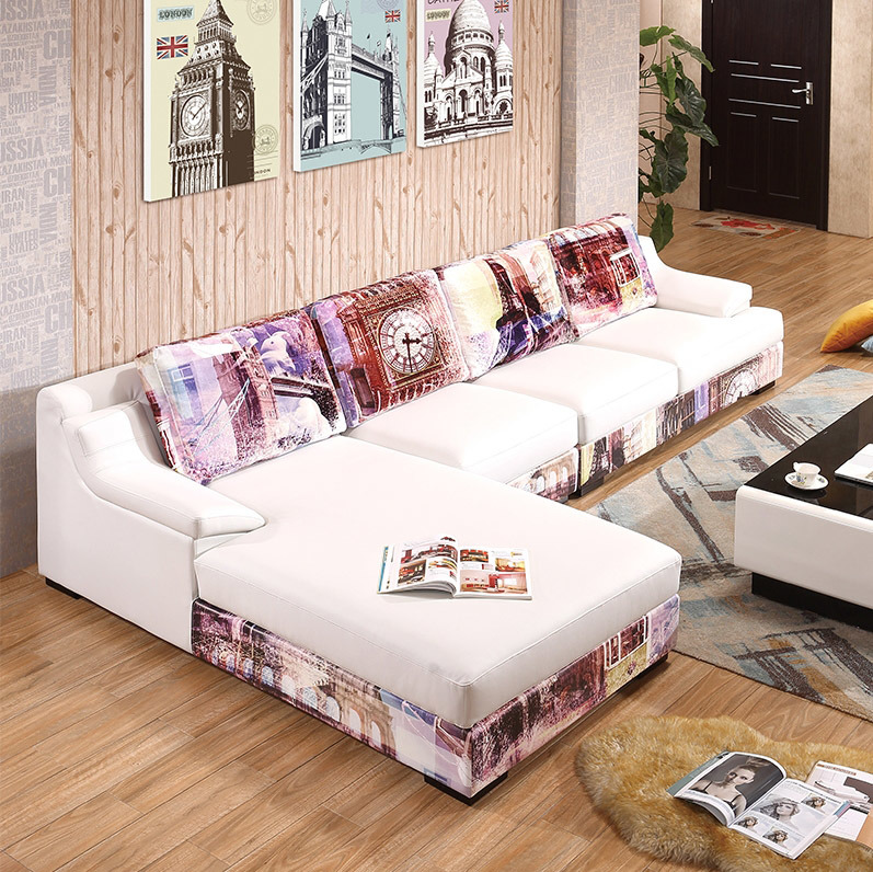 China 2016 Latest New Design Modern Simple Wooden Sofa Set Design