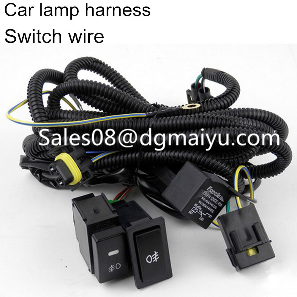 China Fog Lamp Harness Fit on Line Lamp Switch Wire Harness Car ...