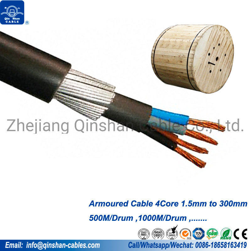 50 Meter Drum 2 Core SWA Cable All Sizes 1.5mm Outdoor Armoured Cable 6942X
