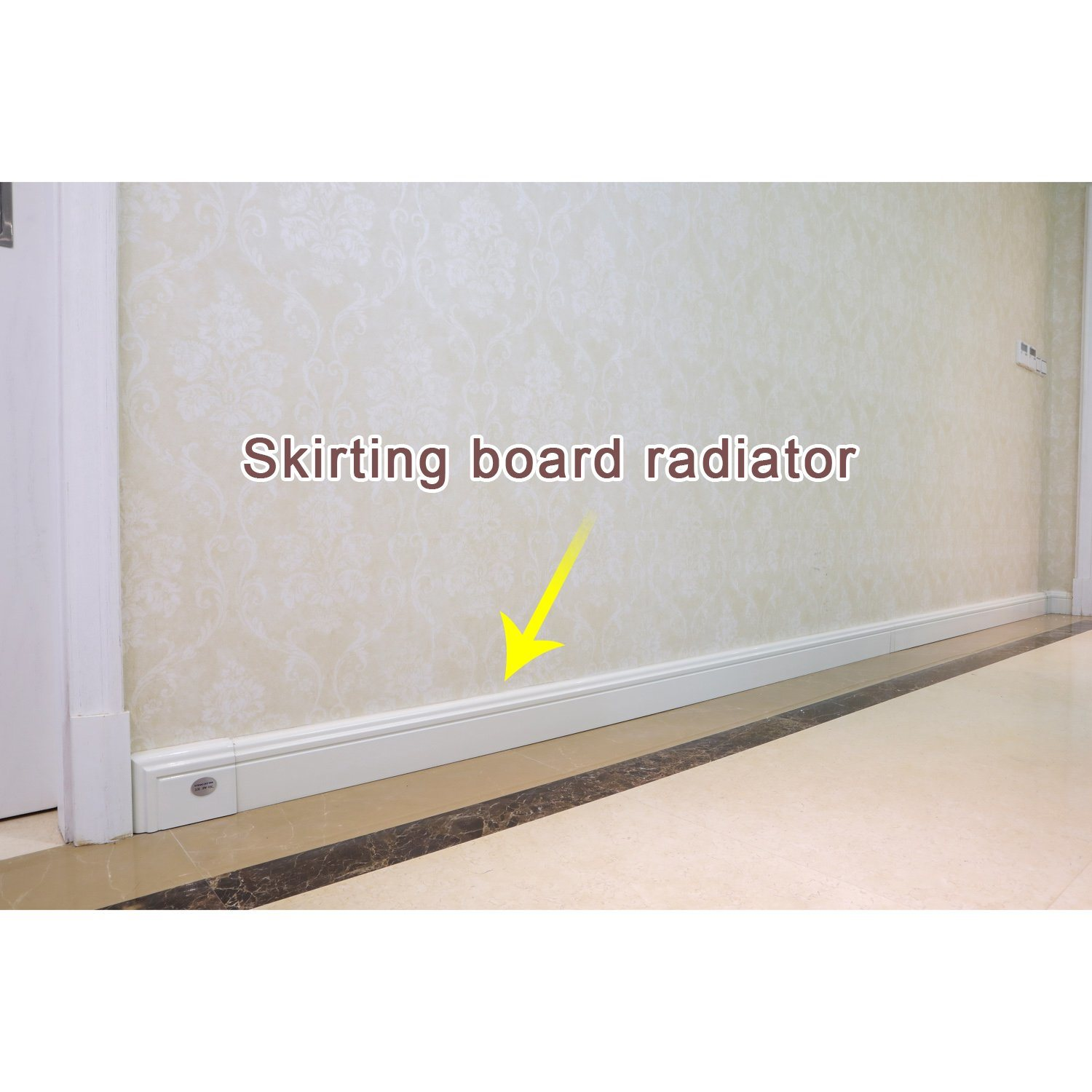 Flexible Central Skirting Board Heating