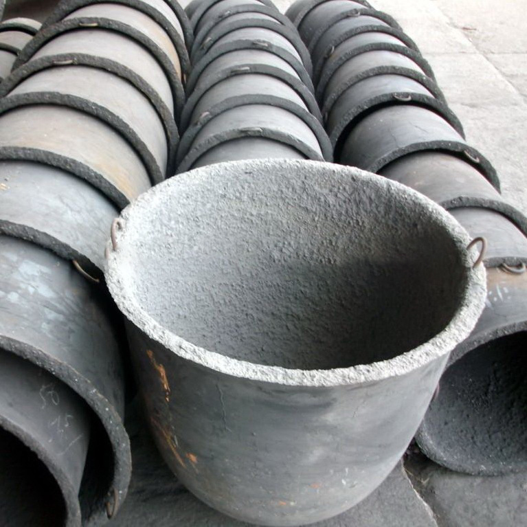 Cast Iron&Steel Crucible for Casting Melting Zinc&Magnesium&Aluminium Alloys pictures & photos