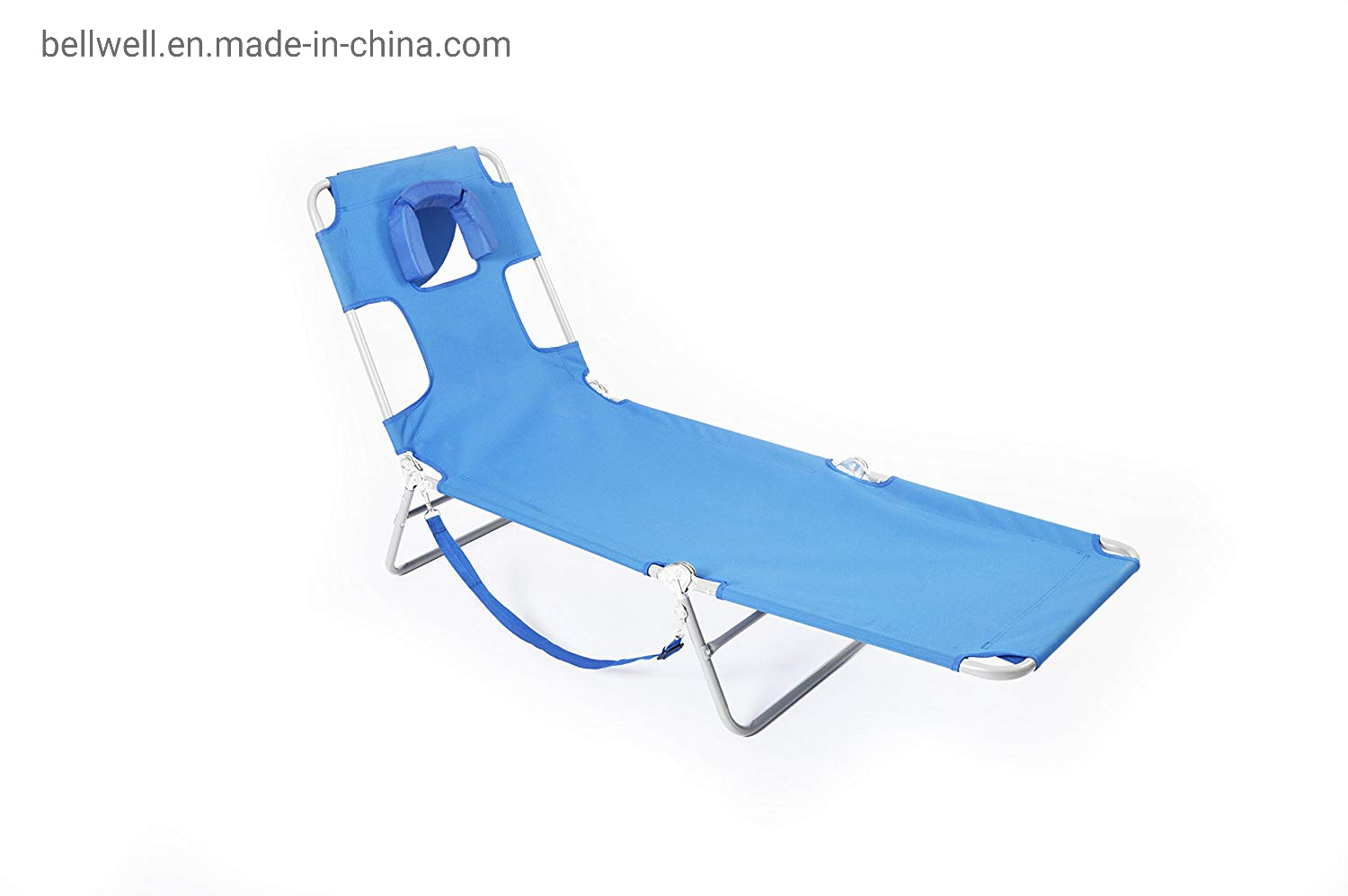 Fabulous Hot Item Adjustable Chaise Lounge Chair Recliner W Sunbathing Tanning Face Down Hole For Beach Outdoor Pool Patio Deck Gmtry Best Dining Table And Chair Ideas Images Gmtryco