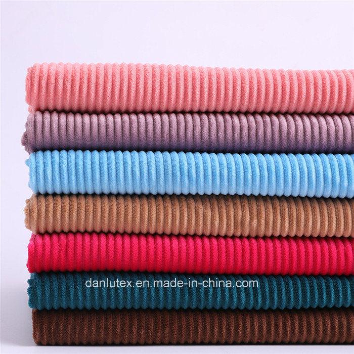 Extra Wide Wale Corduroy Fabric 2.5 Wale Corduroy Fabric 10 Colors 10 mm Corduroy Fabric By the Yard 40162-1 Polyester Corduroy Fabric