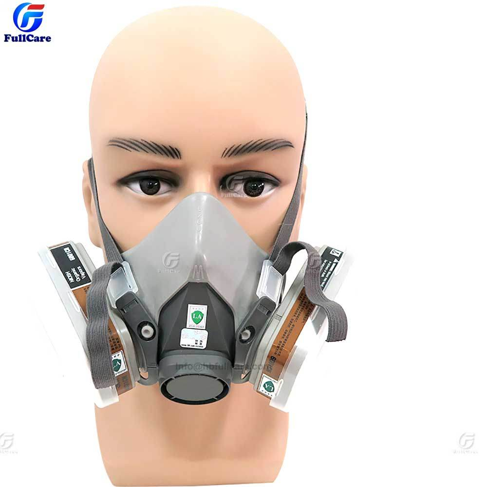 Reusable Gas Dust Construction Half Anti Item 6200 hot Face Respirator Industrial Chemical Mask