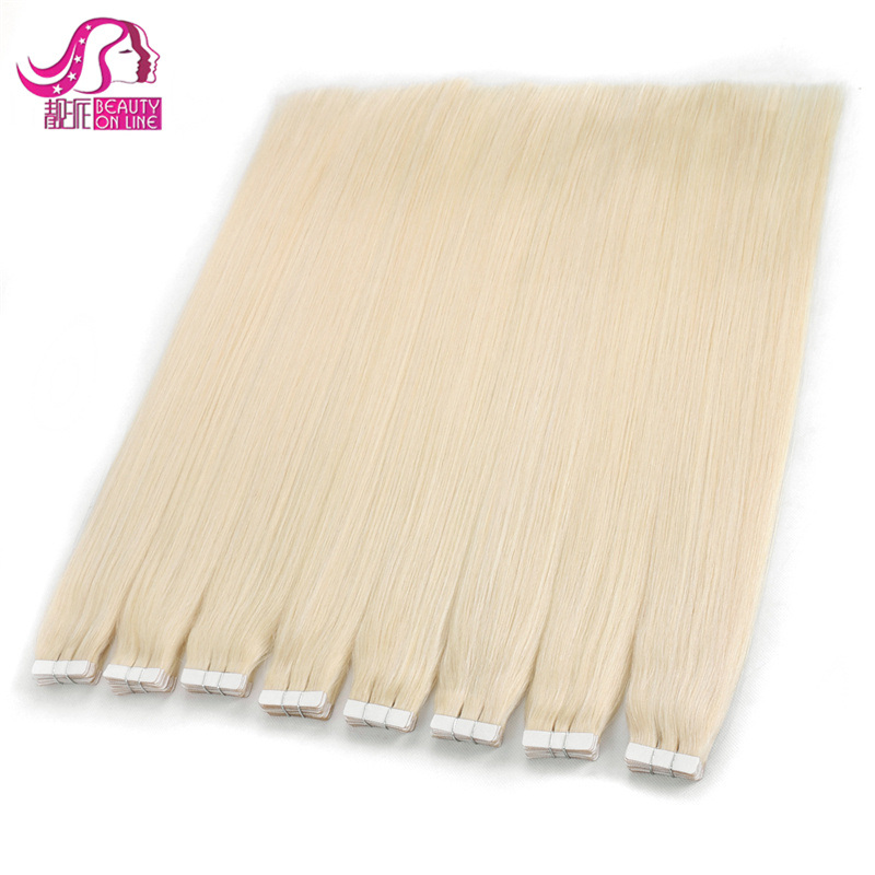 Best Selling Skin Weft Hair Extension 100% European Hair Remy Tape Hair Extensions pictures & photos