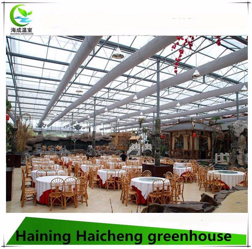 Hot Sale PC Greenhouse as The Ecological Restaurant