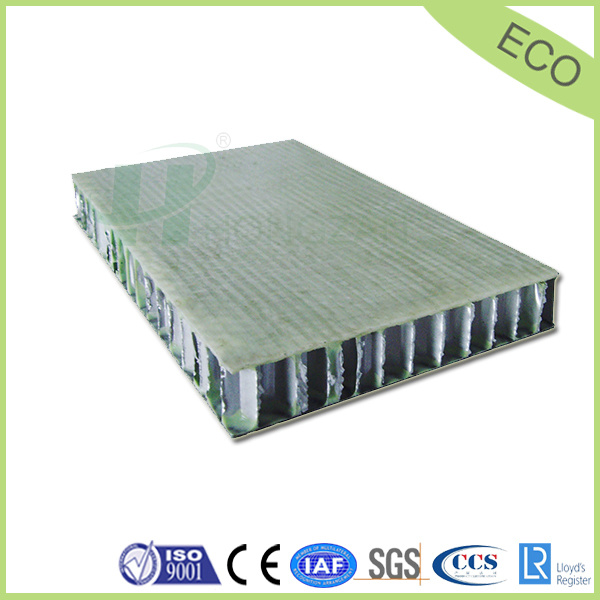 FRP Honeycomb Sandwich Panel for Container and Exterior Paneling