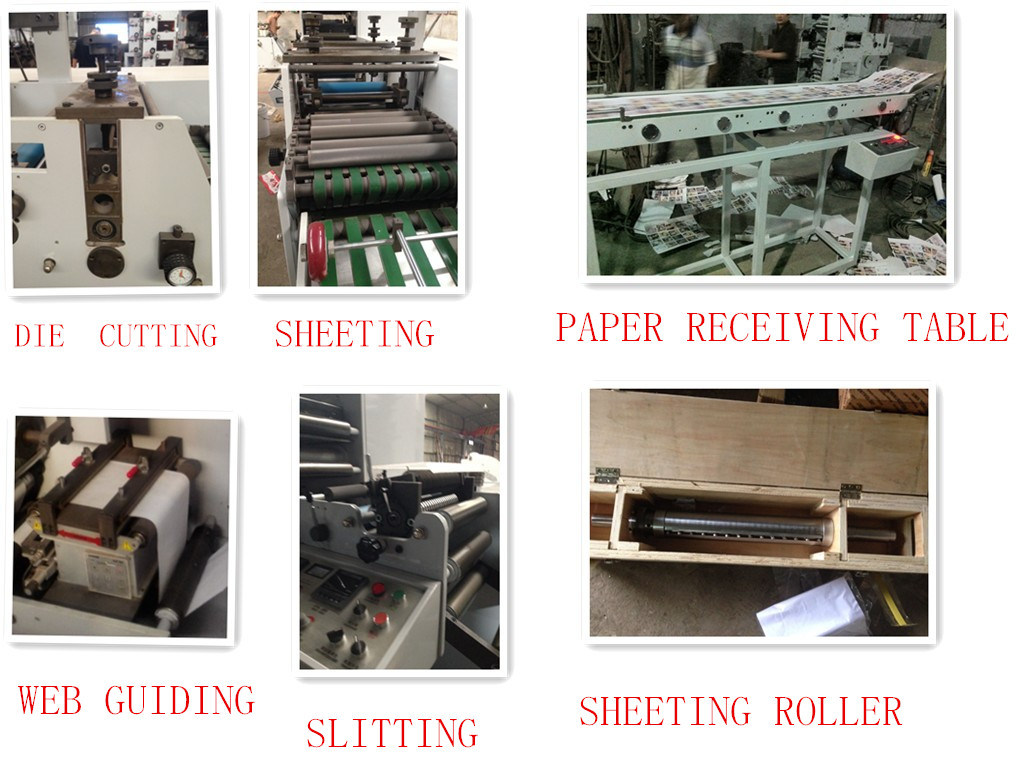 8 Color Flexography Printing Machine pictures & photos