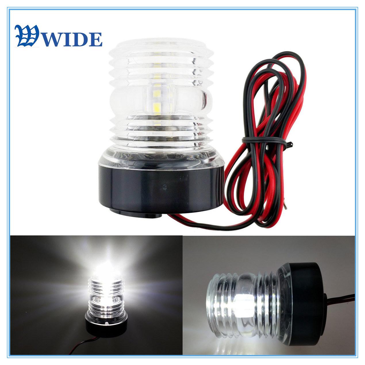 All round white Anchor light LED Navigation light
