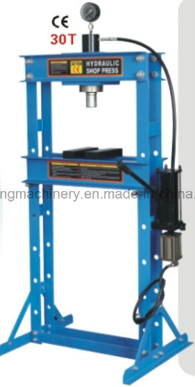 50ton Pneumatic/Hydraulic Shop Press with Gauge