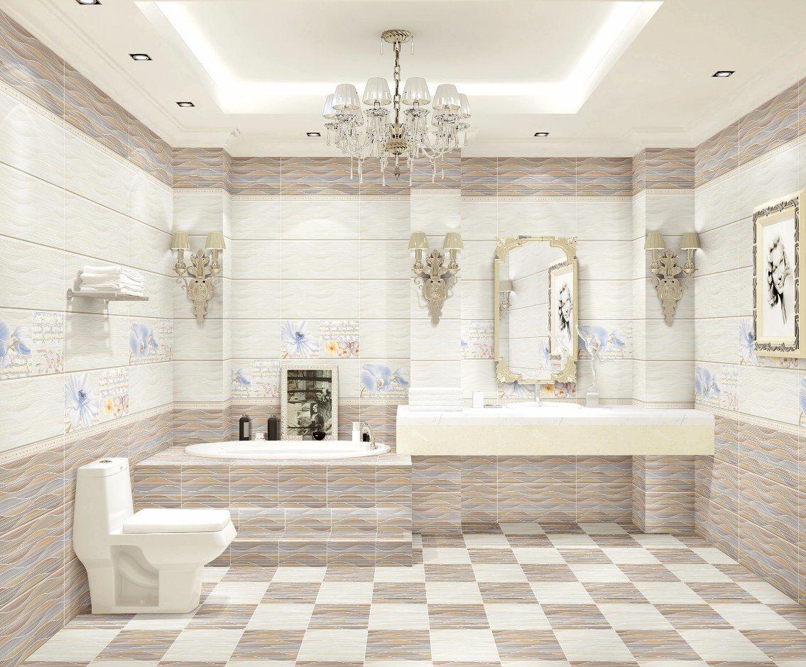 China High Glossy 300X600 Marble Glazed Bathroom Ceramic Wall Tile ...