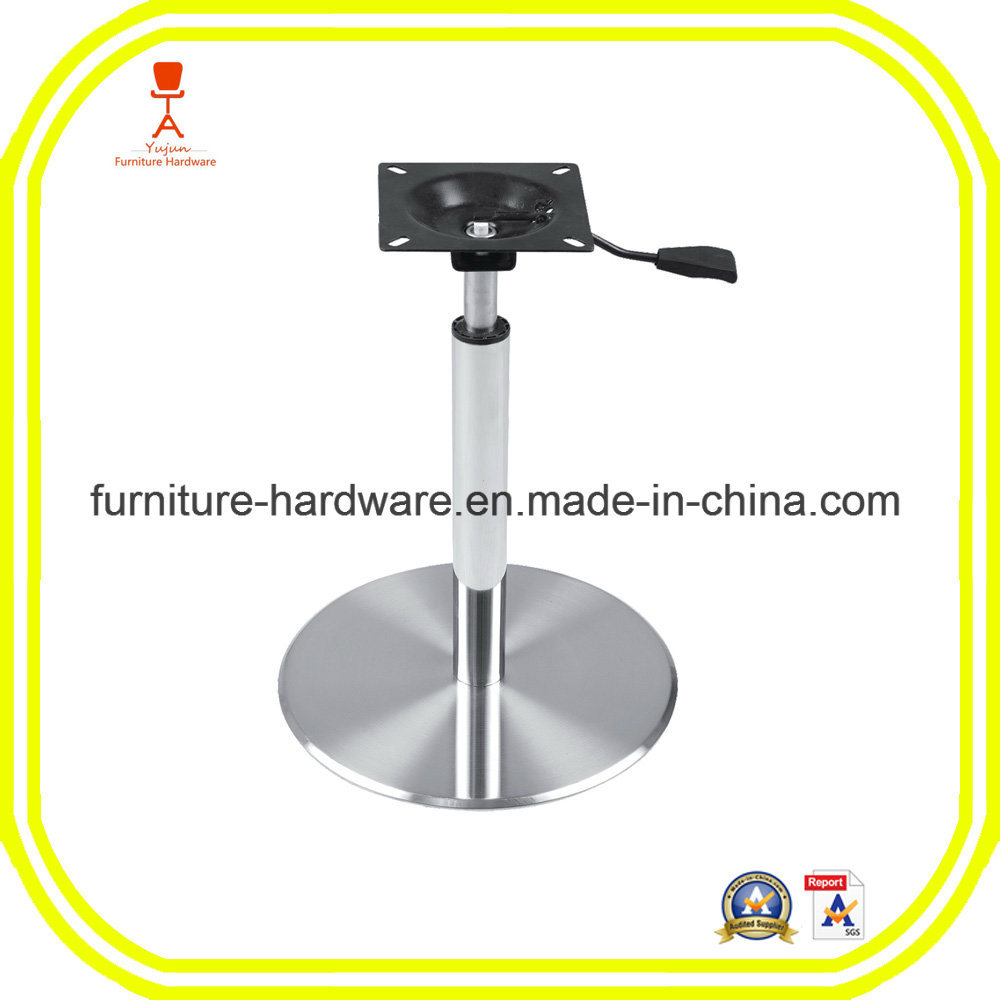 China furniture hardware parts dining table base leg with adjustable height china furniture leg furniture hardware parts
