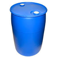 China 55 Gallon Plastic Barrel 200 Litre Blue Drum Wholeale With Small Open Top