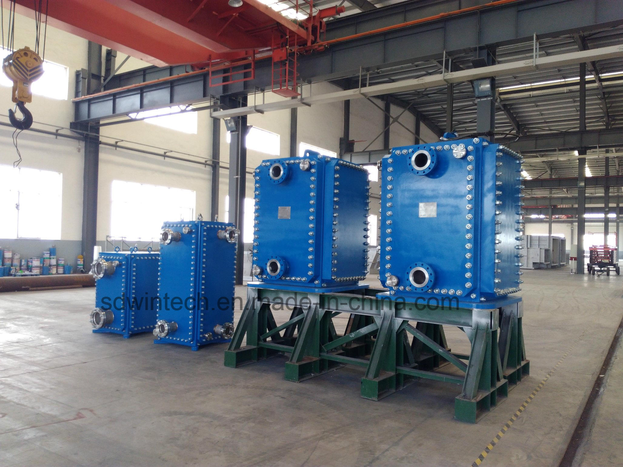 China Removable Plate Heat Exchanger - China Alfa Laval Structure ...
