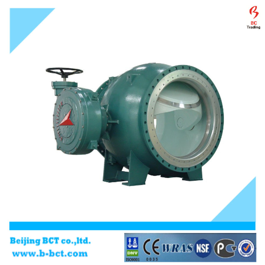 Bi-Directional Metal Seated Flanged Eccentric Ball Valve pictures & photos