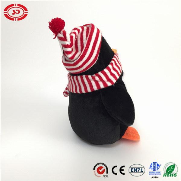China Lovely Tencent Gift Winter Xmas Soft Toy Plush Penguin