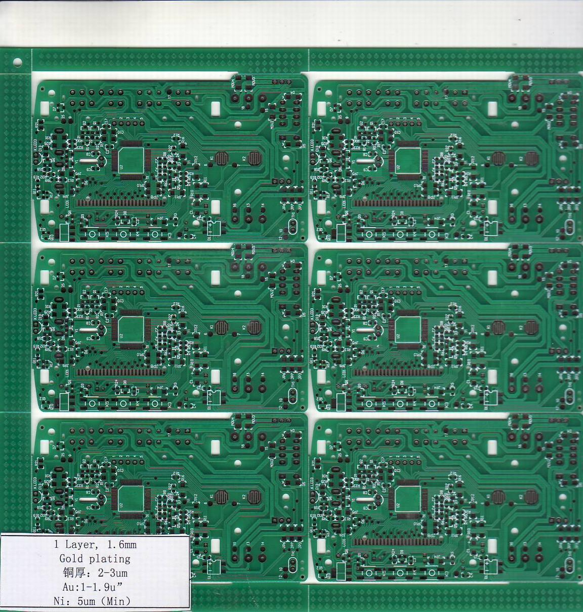 Details Of 4 Layer Blue Rigid Printed Circuit Board 45840294 Double Sided Pcb 2layer Boards Fabrication China Single