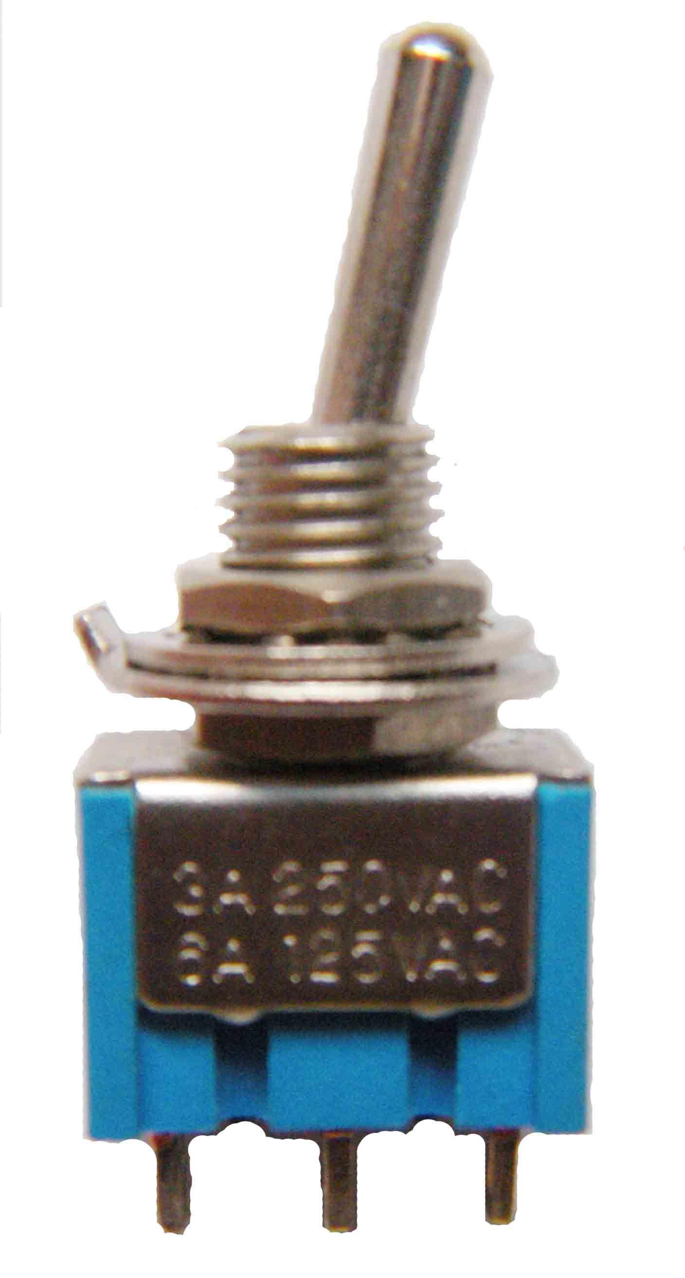 China Toggle Switch Sub Miniature Toggle Switch MRS 101 8