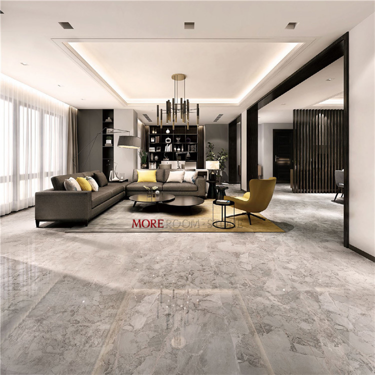 Grey Porcelain Marble Floor Tiles