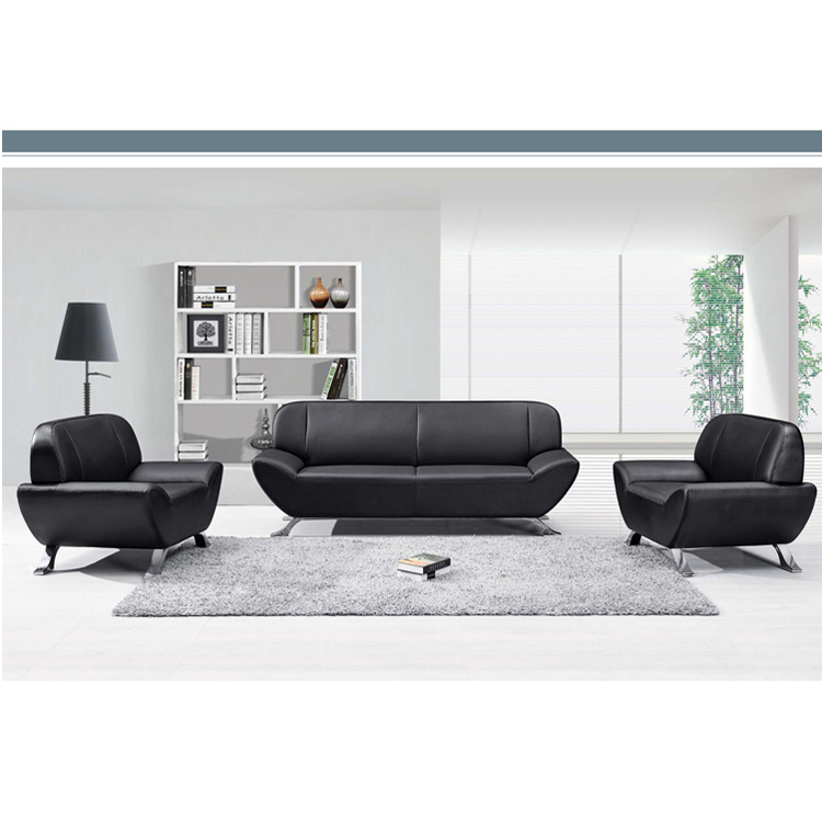 Peachy China French Type Black Pu Sofa Seating For Office Reception Camellatalisay Diy Chair Ideas Camellatalisaycom