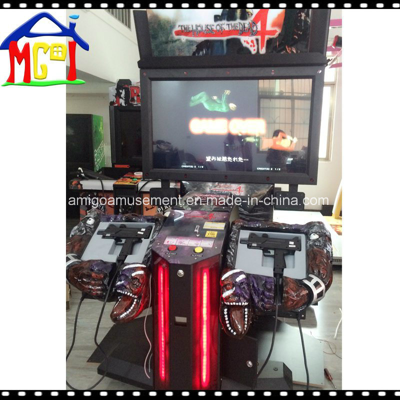 China Shooting Simulator Arcade Game Machine 55 House Of Dead 4th