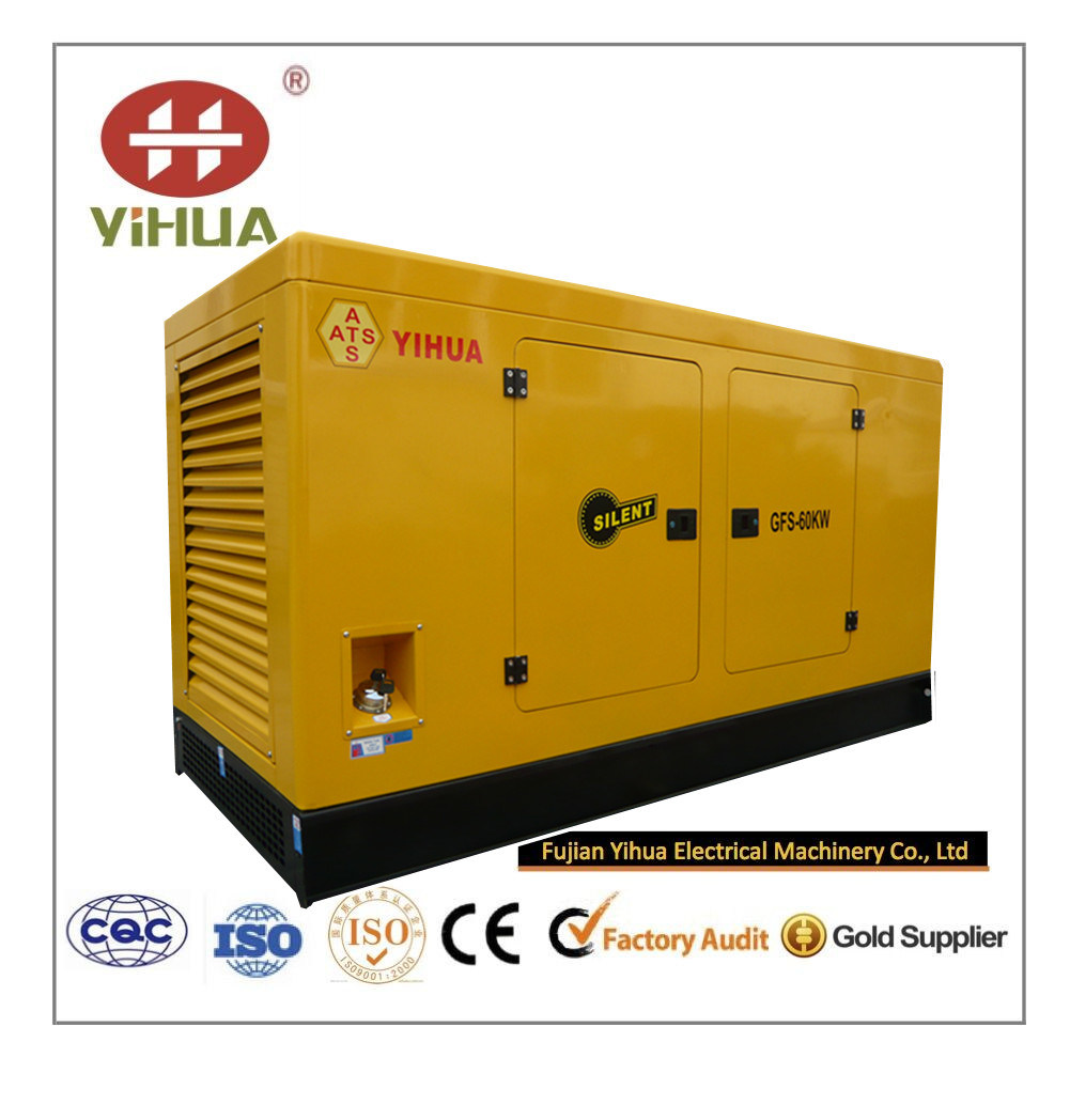 Yihua Weifang Tianhe Diesel Gen-Set 60kw/75kVA pictures & photos