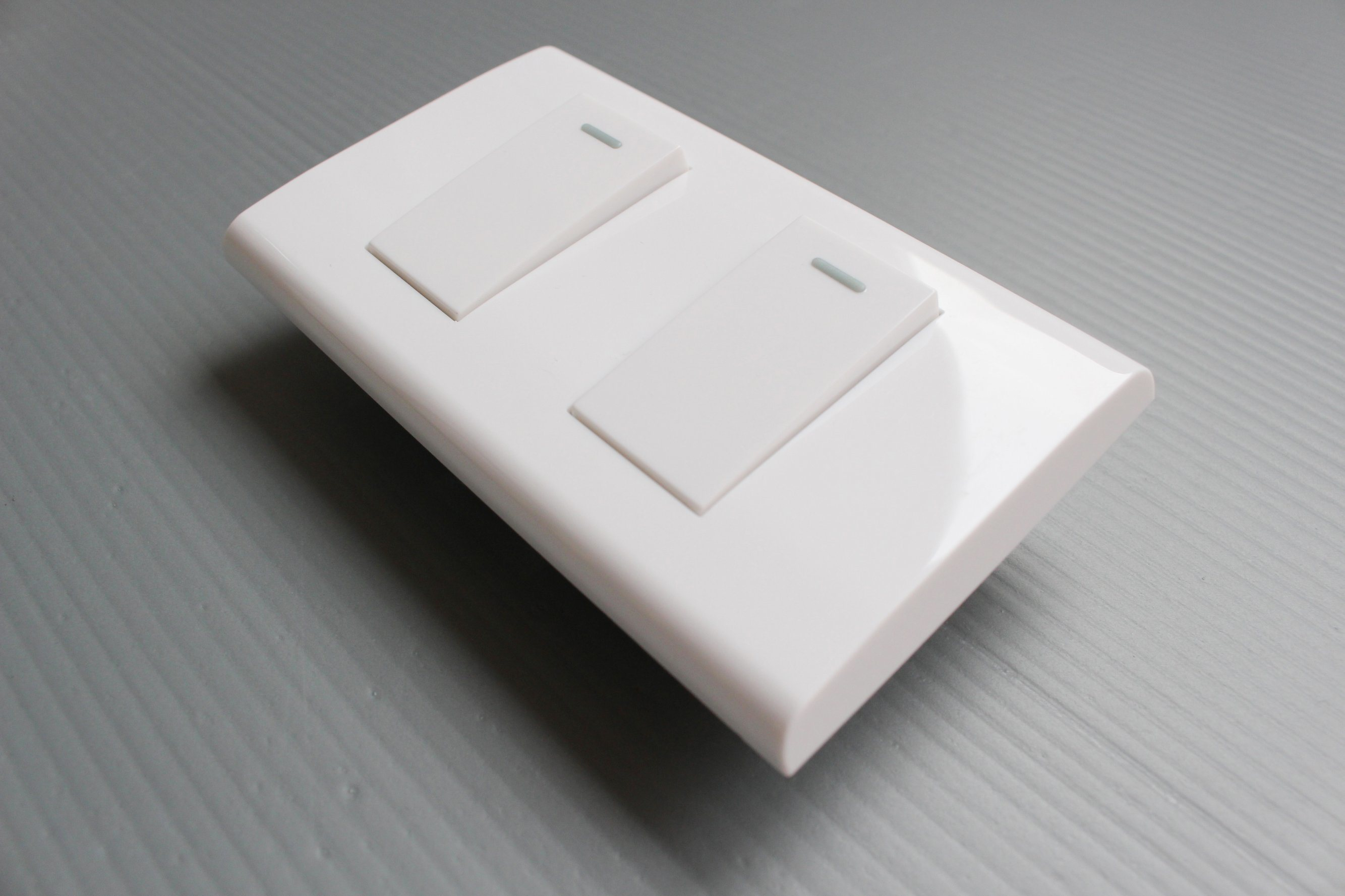 China Double Electrical Wall Switch Electric Switch Socket Light ...
