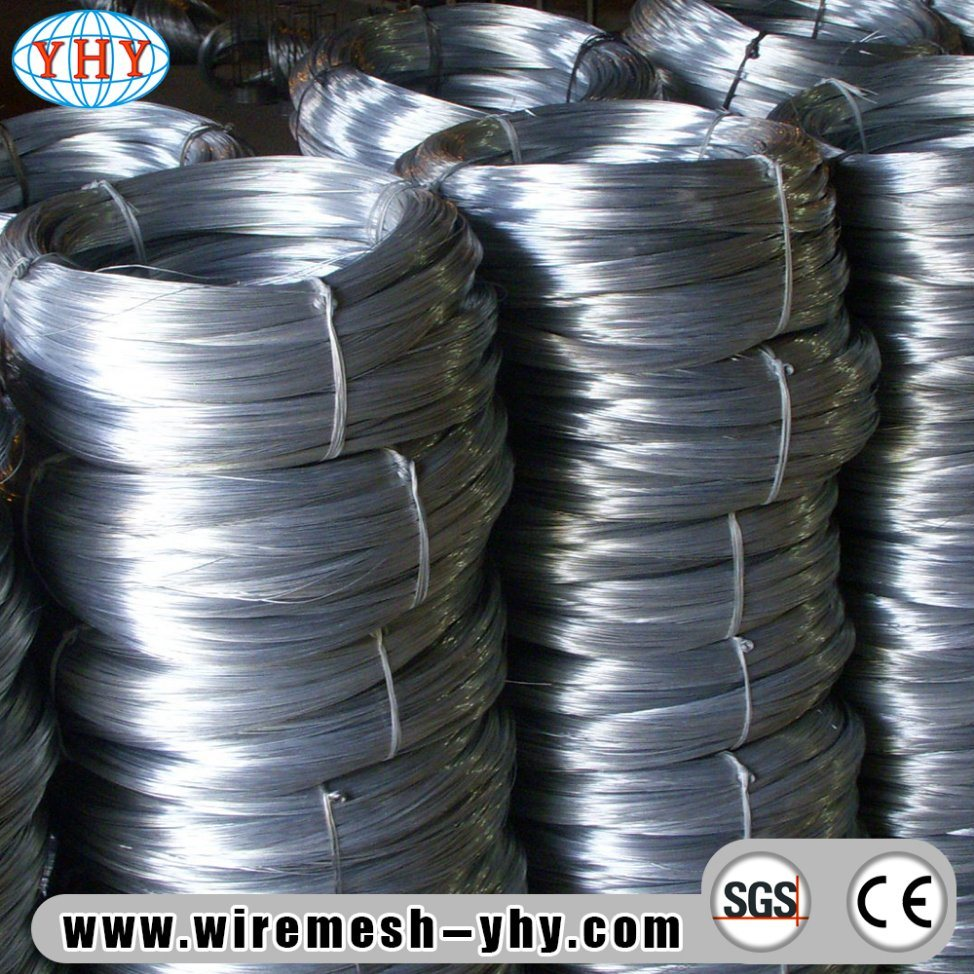 China Low Carbon Electro Galvanized Wire for Coils - China Iron Wire ...