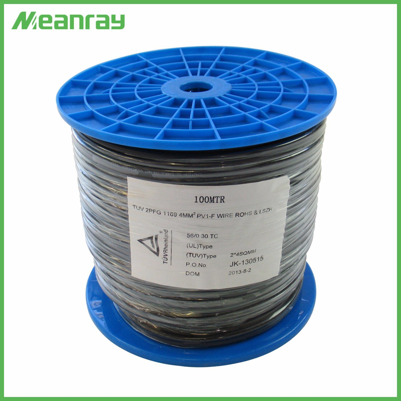 China TUV Certificate 6mm DC Cable Double Insulation 2.5/4/6mm2 (10 ...