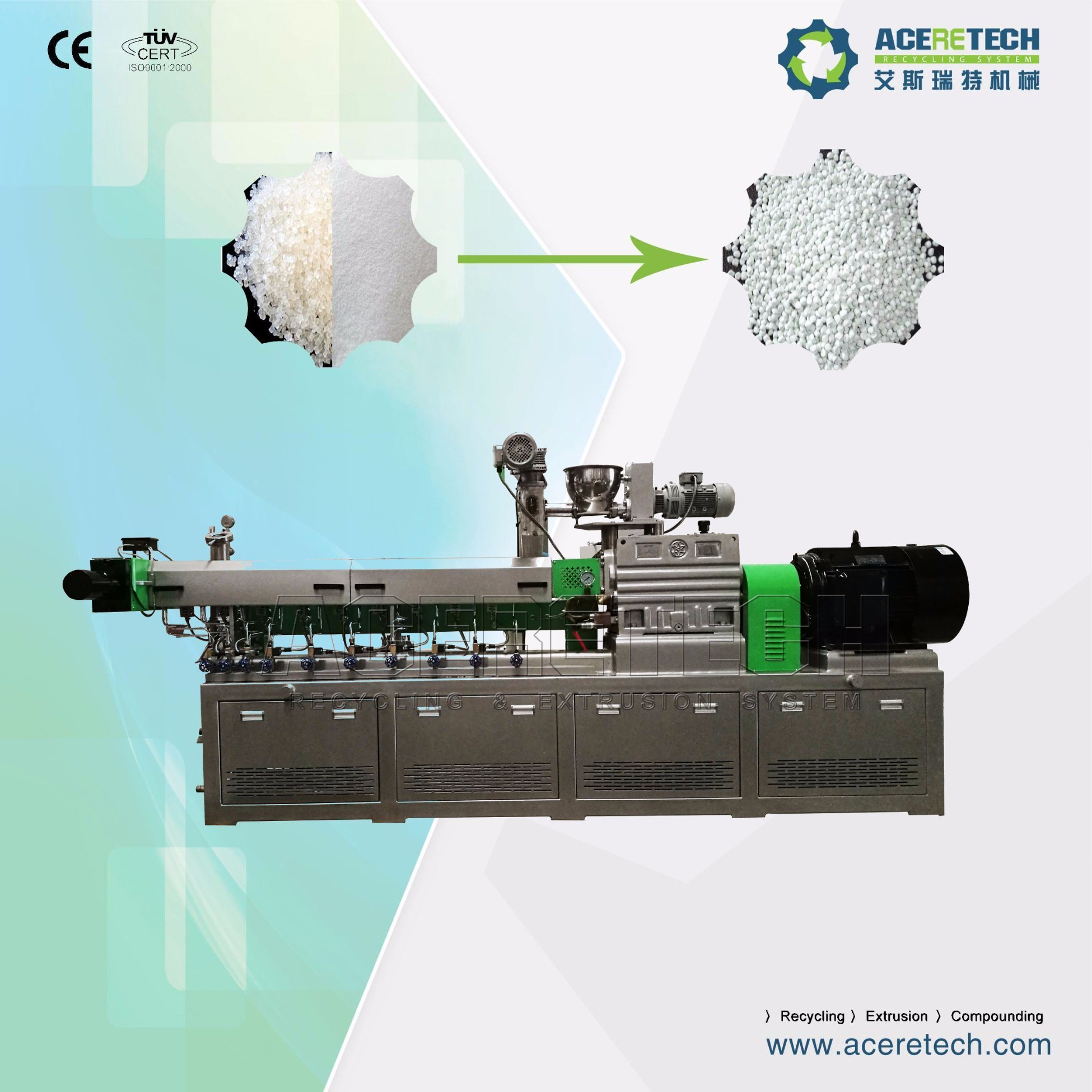 [Hot Item] Plastic PE Chemial Cross Linking Cable Material Extrusion Line