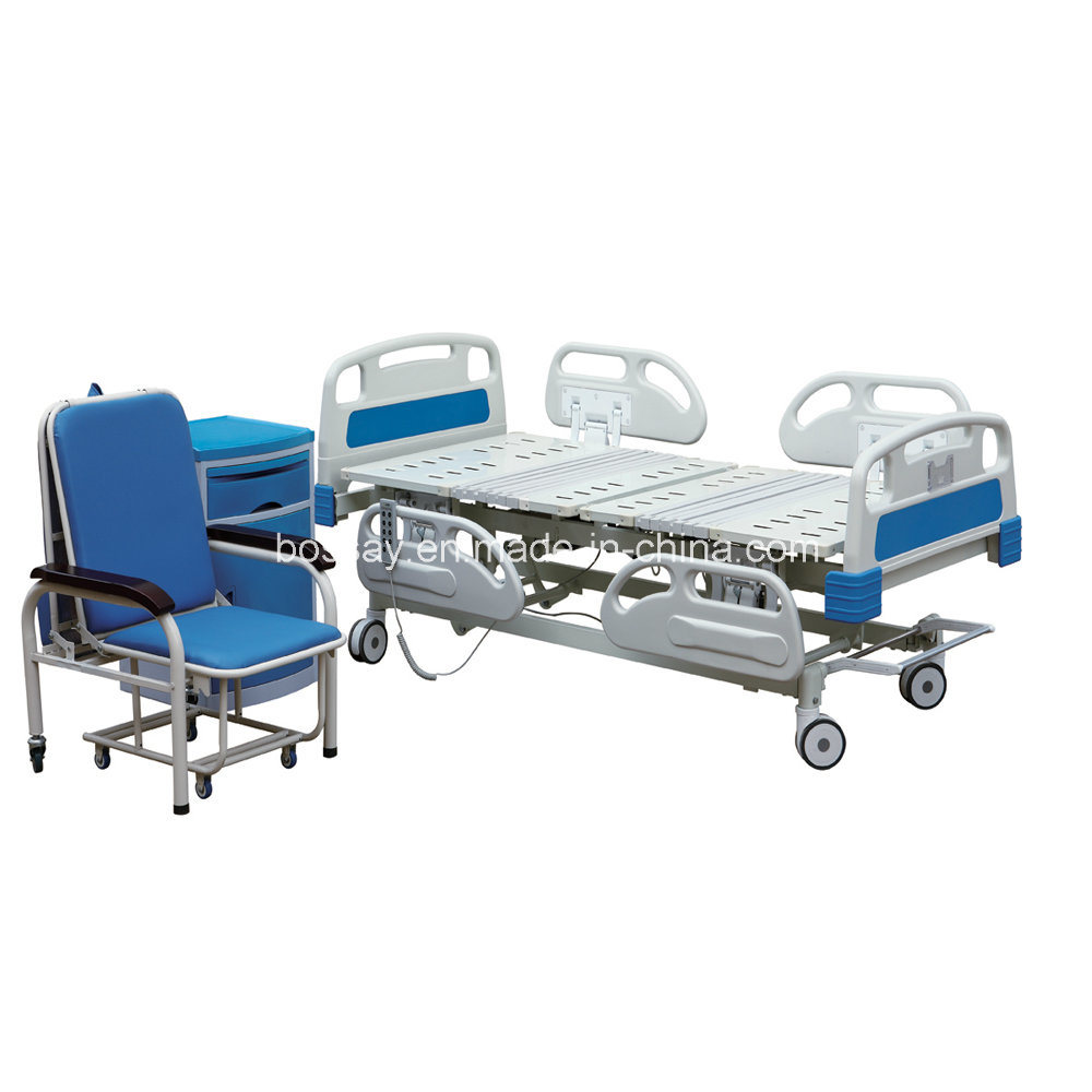 Five Function Electric Hospital Furniture ICU Bed Hospital Bed (BS-858) pictures & photos
