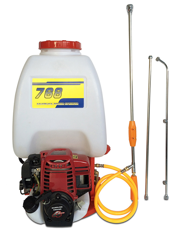 4-Stroke, Gx35 Engine, 25L, Knapsack Power Sprayer