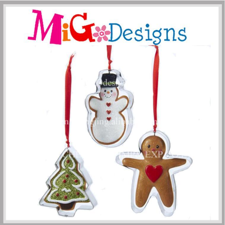 Customized Christmas Gifts Glass Ornament for Christmas Decor