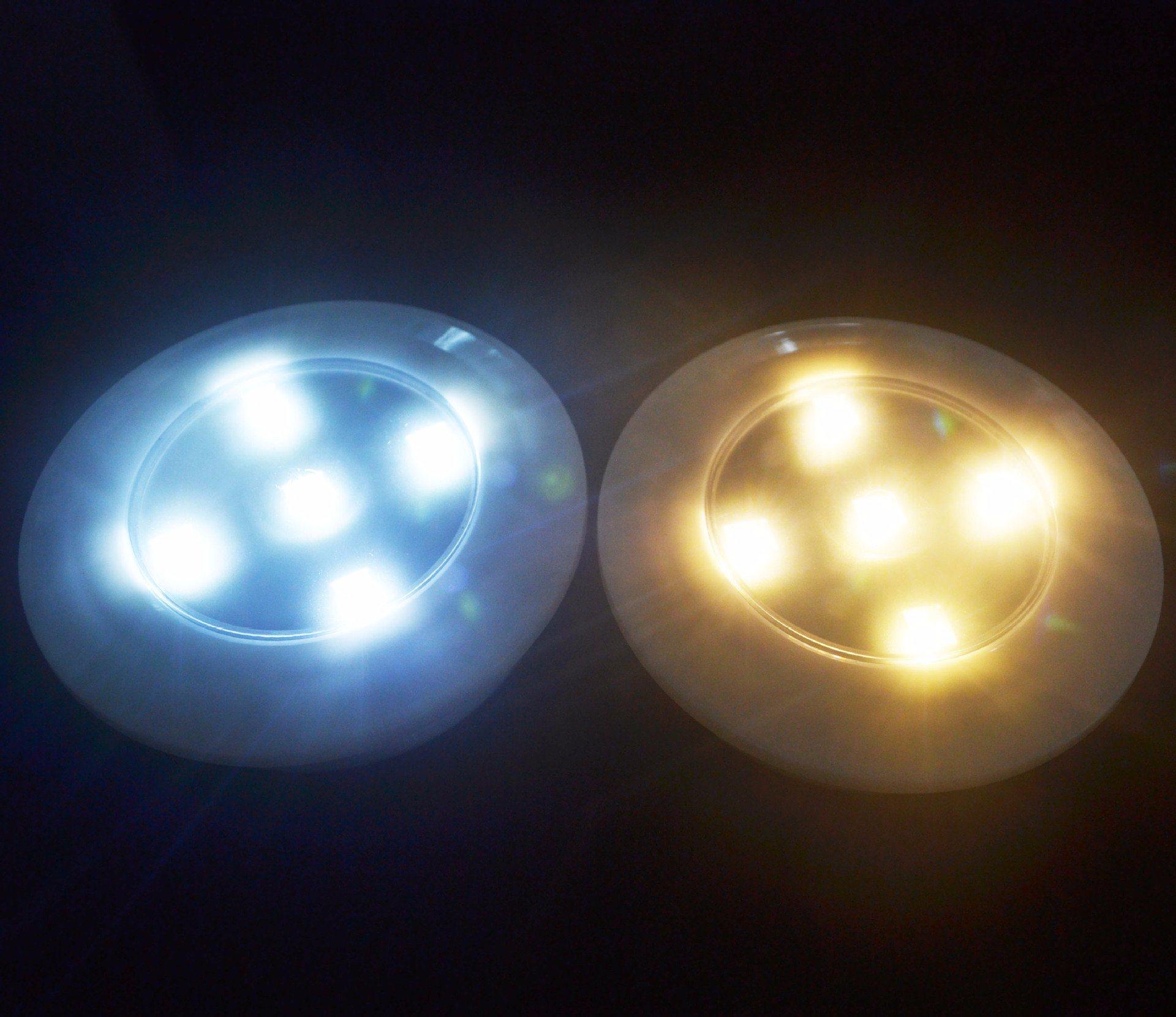 5 Led Wireless Remote Control Light Pat Touch Nightlight Bedroom Wardrobe Lamp
