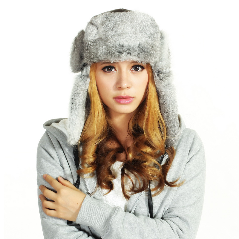 (LKN15028) Plush Winter Fleece Earflaps Hat pictures & photos