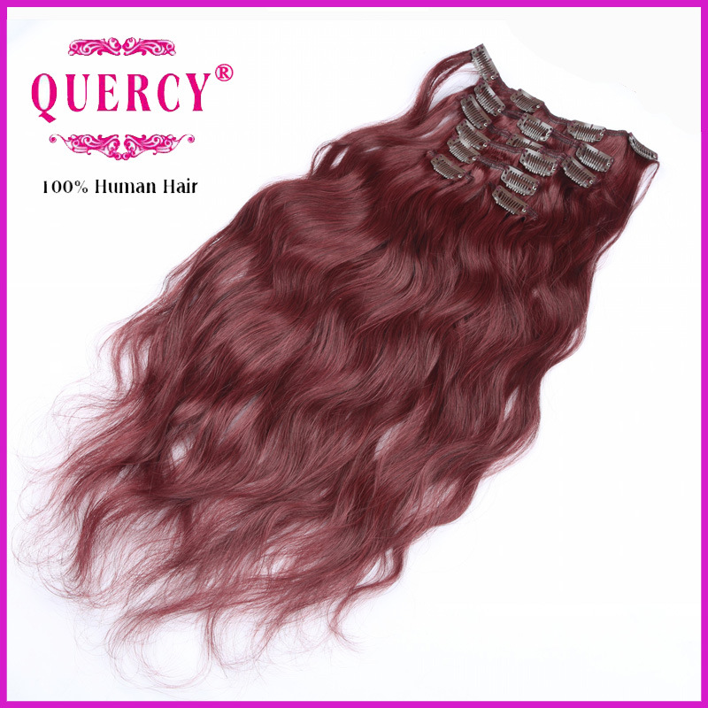100% Human Hair Remy Clips Hair pictures & photos