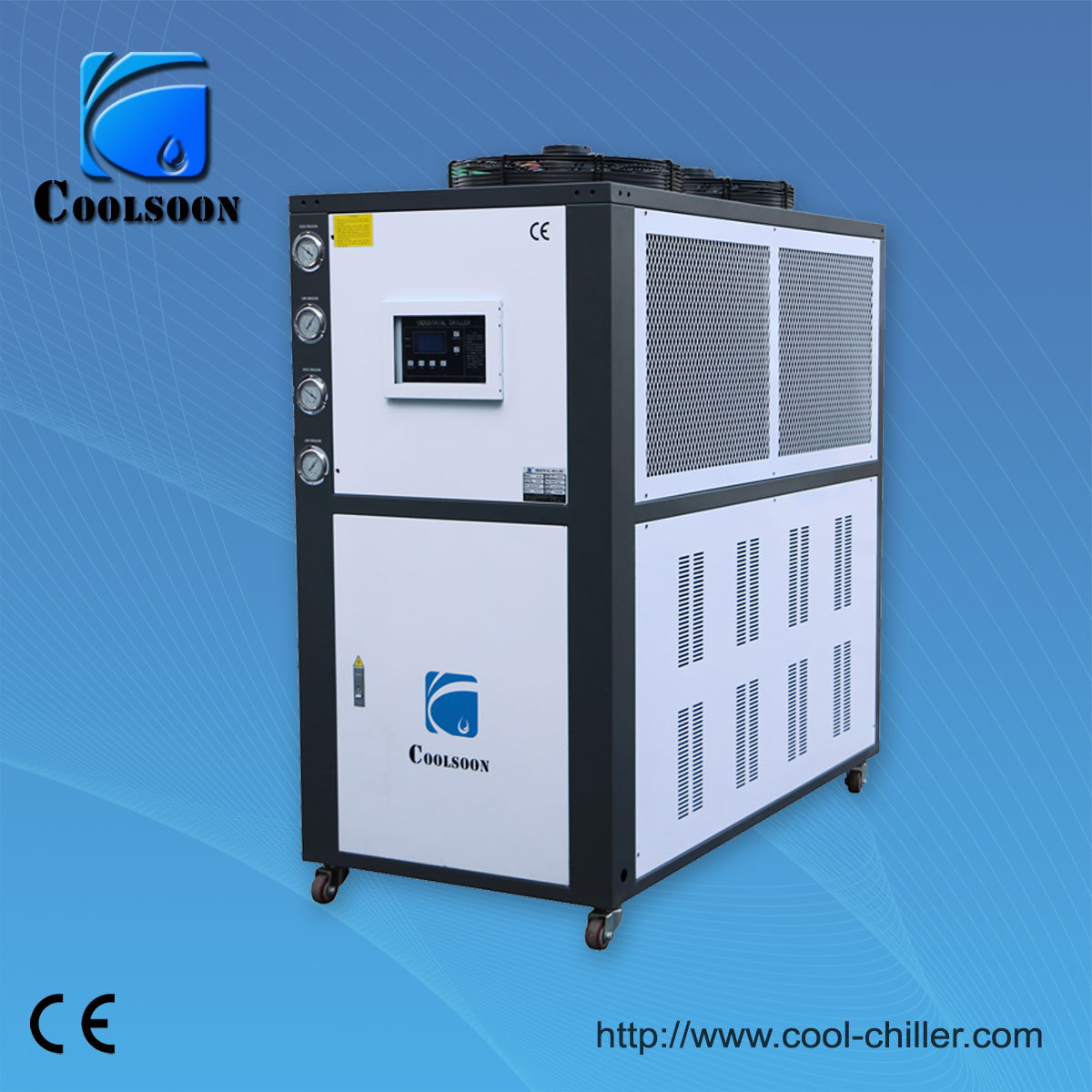 Industrial chillers: description, application, device and types 13
