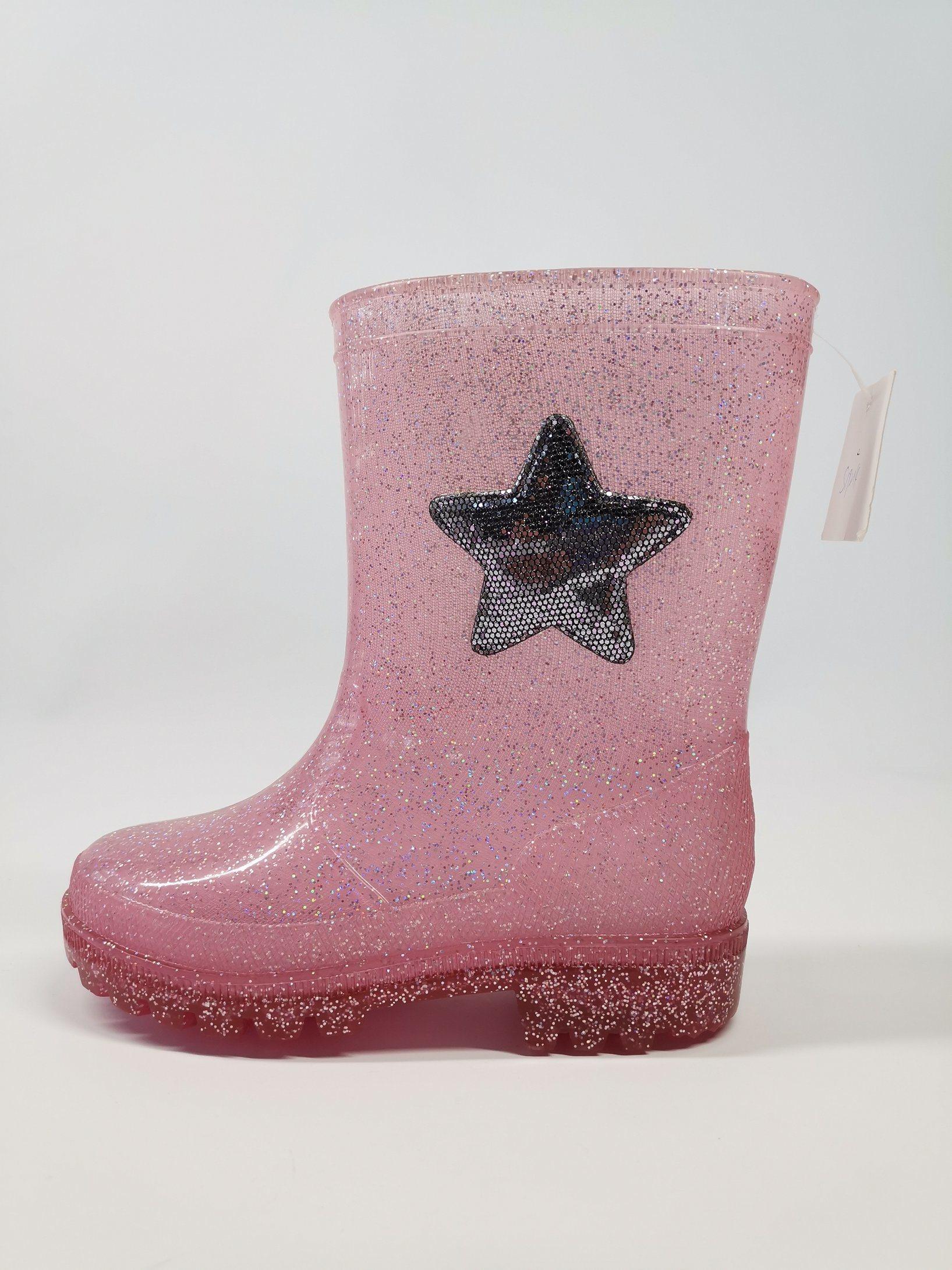glitter rain boots girls