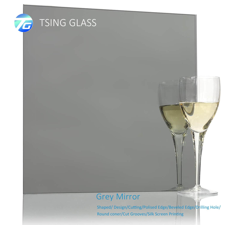 China Sliver Mirror Aluminum Mirror Float Mirror Frameless Mirror Round Mirror Bathroom Mirror Edge Polished Mirror Beveled Mirror For Bathroom Decorative China Color Mirror Mirror Panel