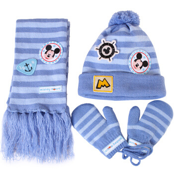 539481db52e China Promotion Children Winter Acrylic Knitted Sets (hat