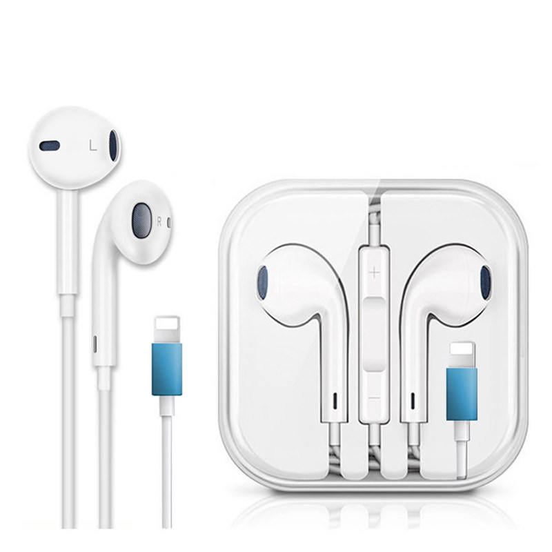 Wired Earphone For Plug Ear Pods For Iphone 7 8 Plus Xs Max Xr X 10 Bluetooth Earphones Mic Stereo Earbud For Ipad China Boat Earphone And Headphone Price Made In China Com