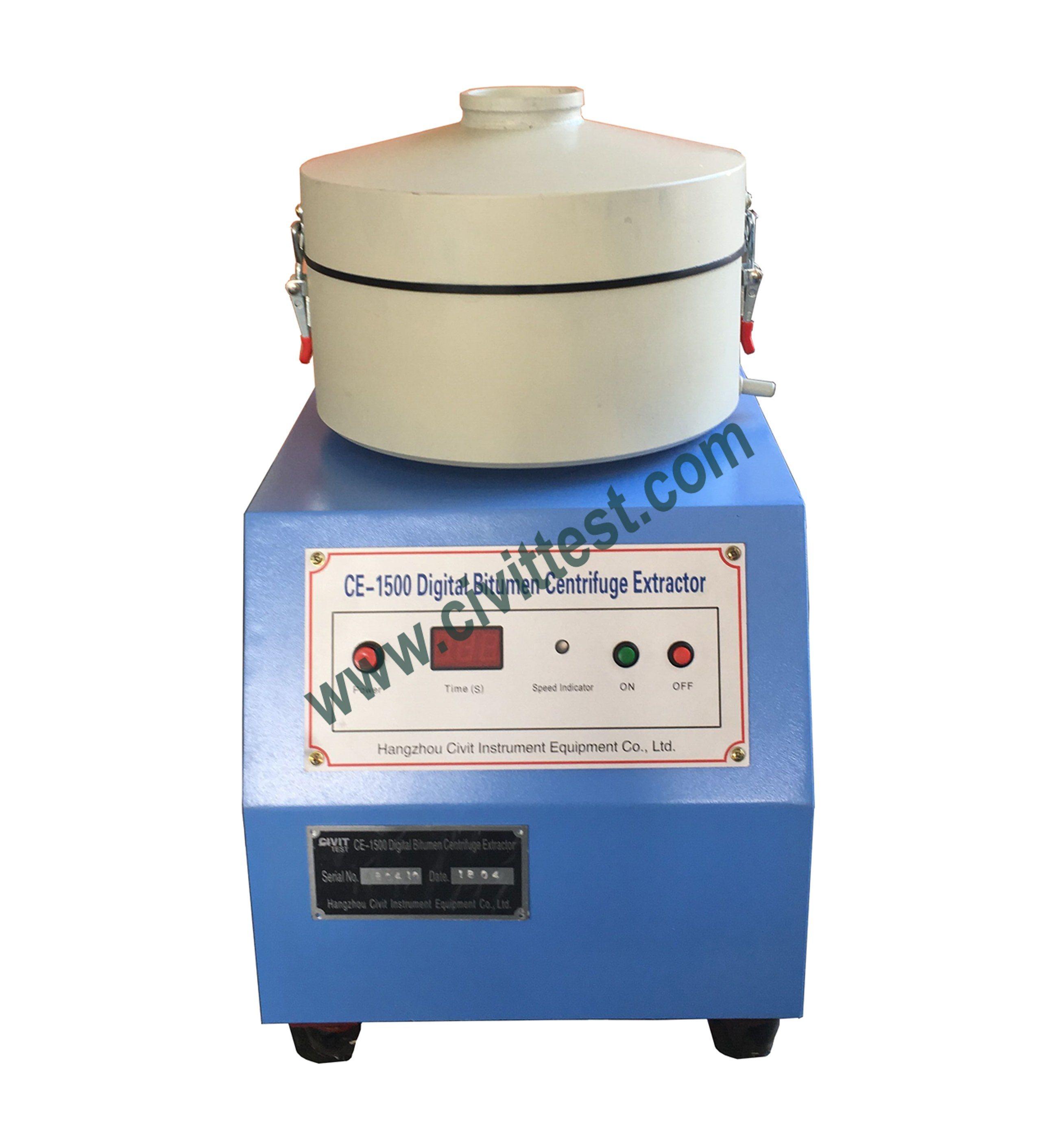China Digital Asphalt Bitumen Centrifuge Extraction Tester Test Machine China Centrifuge Extraction Test Centrifuge Extraction