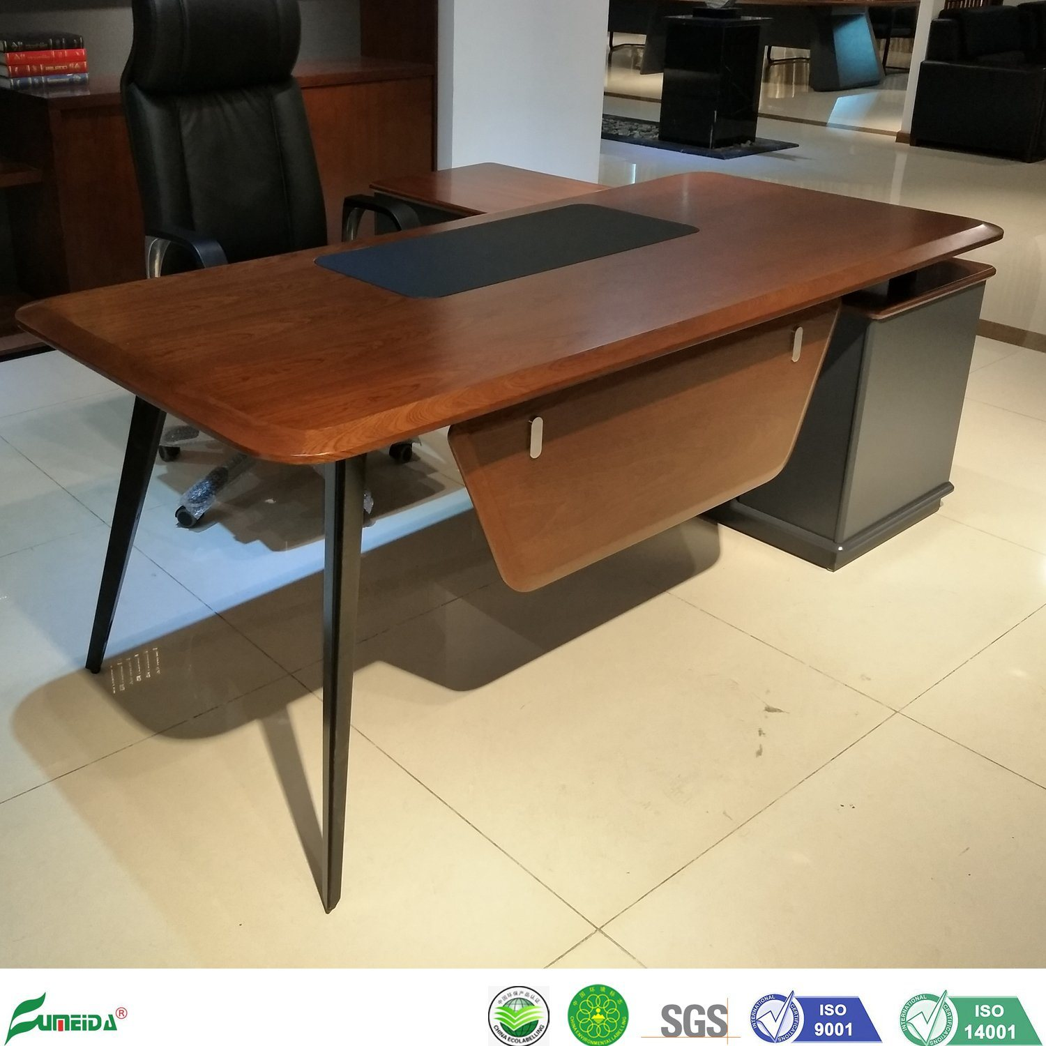Image of: Chinese Furniture Wooden Veneer Luxury Classic Modern Office Desk Photos Pictures Made In China Com