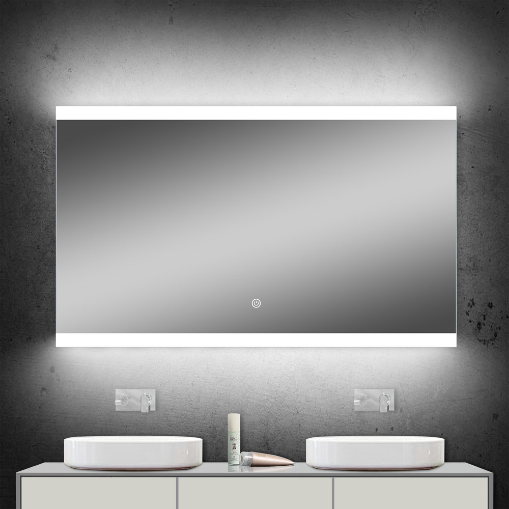 Illuminated Bathroom Cabinets >> Hot Item Wall Illuminated Bathroom Cabinets Mirror With Led Lighting