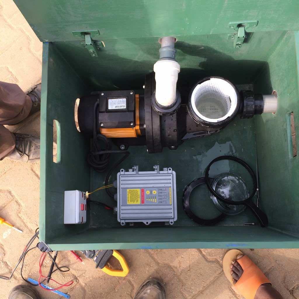China 1500w Bldc Anti Chlorine Solar Power Swimming Pool Pump For Electrical Wiring Circulation