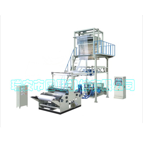 Layer Plastic Traction Rotation Plastic Film Blowing Machine