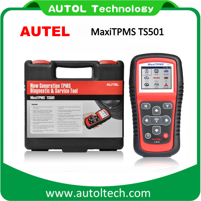China Autel Maxitpms Ts501 Professional Autel Ts 501 Free Upgrade on