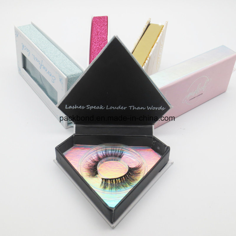 e2f6cd35d44 China Custom Luxury Private Label Rose Gold Glitter Custom Logo Marble False  Eyelash Packaging Box - China Customized Logo Box, Magnetic Lash Box