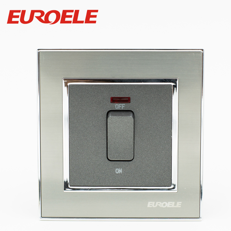 China Electric Wall Switches 86*86mm 250V 20A Water Heater Switch ...
